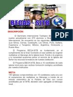 Descripción Beca - Sitb Enero 2018