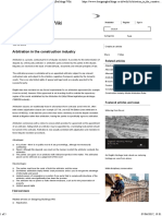 Arbitration in the Construction Industry - Designing Buildings Wiki