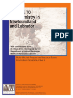 A Guide to Geochemistry in Newfouland & LaBRADOR