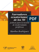 SM87 Rodríguez Narradores Ecuatorianos