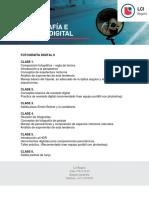 Fotografía digital II