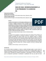 Psicologia Chile Armas Ramos Venegas