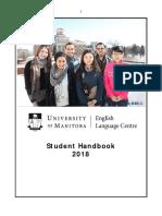 Student Handbook Winter 2018