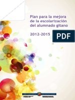 Plan para la Mejora de la escolarización del alumnado gitano