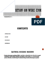 Presentation on Wire Edm