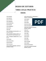 Caderno de Estudos Anatomia P