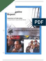 Investigative Report Alexander/Howard