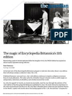 The Magic of Encyclopedia Britannica's 11th Edition _ Books _ the Guardian