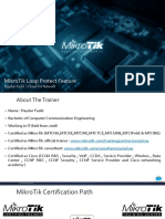 MikroTik Loop Protect