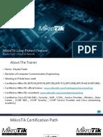 MikroTik Loop Protect