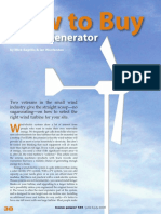 How to Buy a Wind Generator