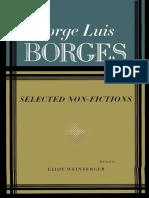 Borges selectednonfictions 2pdf essays novelists fandeluxe Image collections