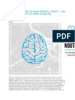 Ultimate Guide to Nootropics