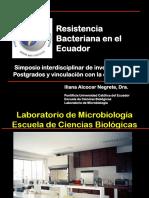 Resistencia Bacteriana Ecuador