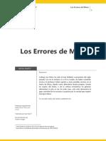Los Errores de Mises - Antal Fekete
