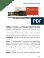 A Crise Do Historicismo Como Problema de Consciência Um Debate Historiográfico Internaciona Marcelo Durão Rocrigues Da Cunha