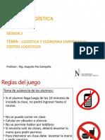 Logística y Economía empresarial