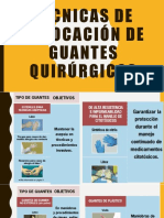 Técnicas de Colocación de Guantes Quirúrgicos