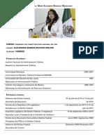 Alejandra Barrales Curriculum