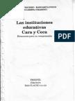 Frigerio, G.; Poggi, M. y otros (1996) Las instituciones educativas Cara y Ceca 1.pdf