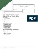 Examen Único de Residentado Médico 2017 1