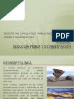 Unidad 3 Geomorfologia