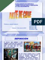 Arte de calle - presentación.odp