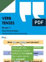 Verb Tenses EV