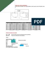 Diseño de Losa de Fondo en Cupula Esferica Hasta Viga de Fondo