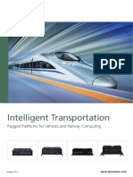 Intelligent Transportation Rugged Platforms for Vehicles and Railway Computing - Brochure