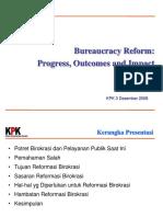 KPK-REFORMASI BIROKRASI