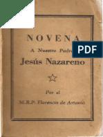 Novena Jesus Nazareno