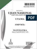 Prediksi UN 2018 MTK SMP P1.pdf