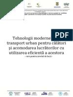 Curs 5 - Tehnologii Moderne Pentru Transport Urban - CD