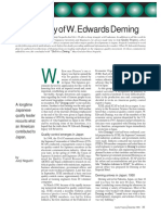 The Legacy of Edwards Demings