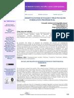Representaciones Sociales y Practicas de Formación Profesional_ Aletheia