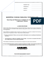 Cooling Towers Checklist