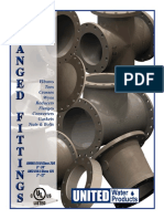 UL Listed Flanged Fittings - AWWA C110 - Water Works - Fire Protection