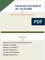 Los Estados Financieros y Su analisis