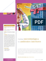 Calidad Microbiologica de Interiores