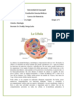 Fisiologia La Celula