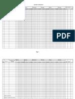 Attendance Format