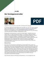 Kaube Honneth contra Sloterdijk_ Der Vermögensverwalter FAZ