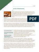 Debatte Sektkorkenknaller Auf Der Deb at Ten Party | Frankfurter Rundschau