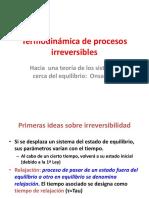 Termodinámica de Procesos Irreversibles Onsanger