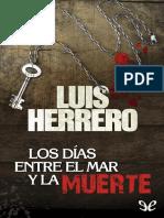 Los días entre el mar y la muerte de Luis Herrero