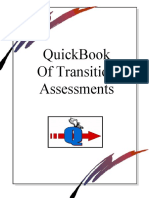 Quickbook of Transition Assessment