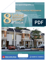 Brosur Perumahan Di Yogyakarta - 8 Lokasi Perumahan Di Yogyakarta