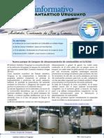 Boletin Informativo del Instituto Antártico Uruguayo 3 setiembre 2010