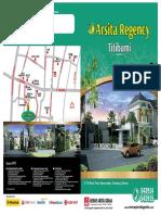 Brosur Perumahan Di Yogyakarta - Arsita Regency Titibumi